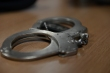 SPANGDAHLEM AIR BASE, Germany – Handcuffs rest on a table inside the security forces building during a training exercise April 2, 2013. If a security forces member suspects a person of a crime, they must detain them and search their person for weapons and illegal substances. (U.S. Air Force photo by Airman 1st Class Gustavo Castillo/Released)