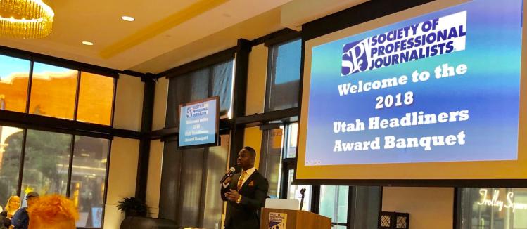 2018 Utah Headliners Banquet at The Falls.